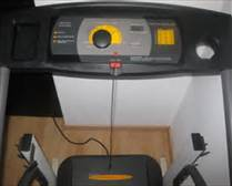 the control console for the treadmill that I removed and modified